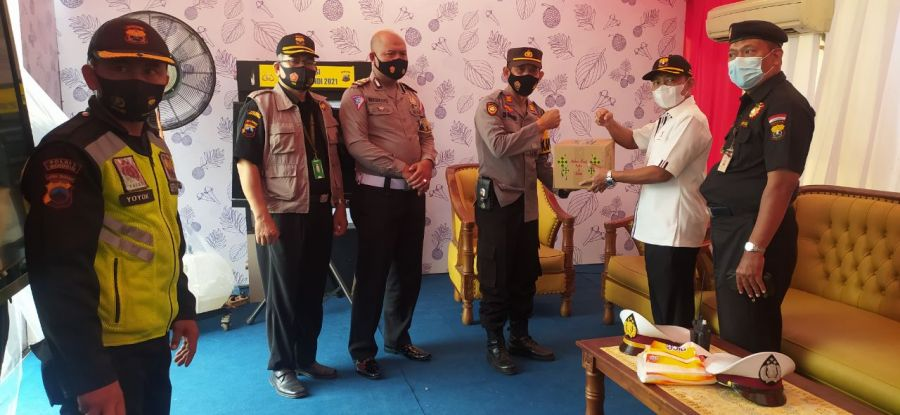 Dalam Supervisi Posko Lebaran 2021, Ketum Senkom Mitra Polri terus tekankan masyarakat jaga 3M