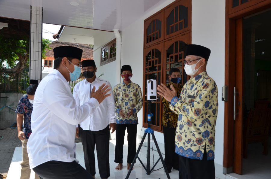Halal Bihalal Walikota Kediri Di Ponpes Wali Barokah