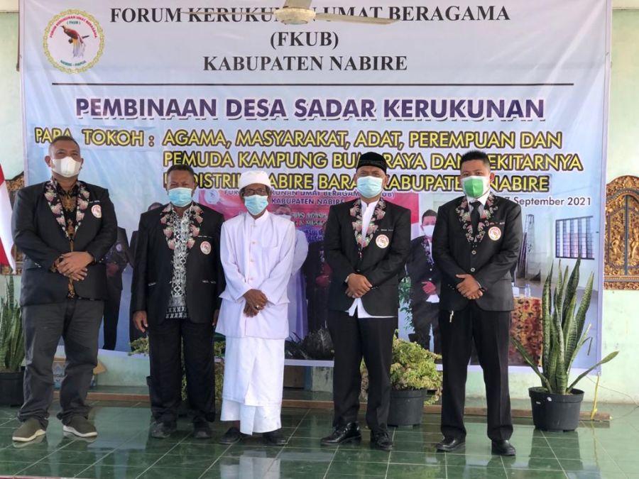 Ketua LDII Nabire Diercaya Menjadi Pemateri Tentang Kerukunan Dari Sudut Pandang Agama Islam