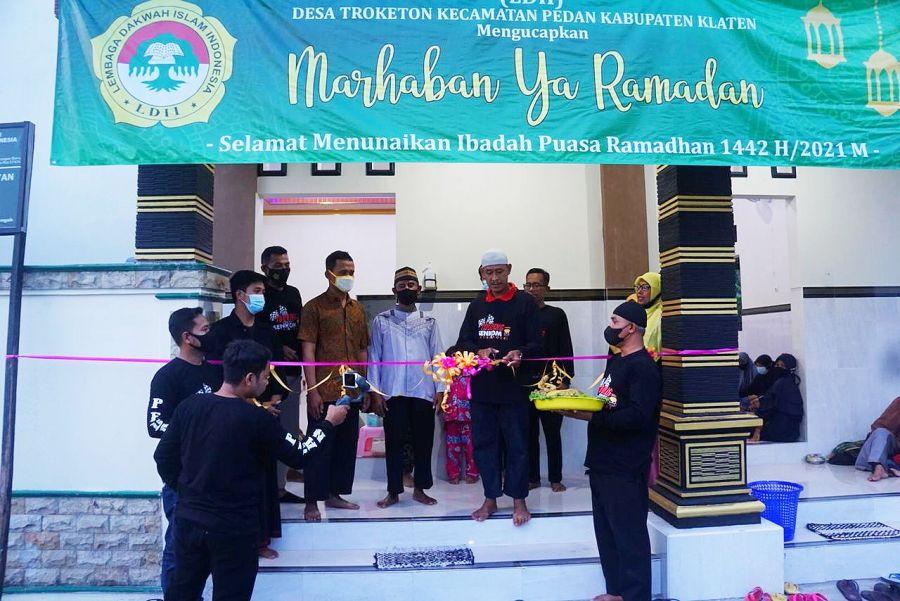 Meskipun Pandemi Tidak Mematahkan Semangat Warga LDII Troketon Membangun Masjid