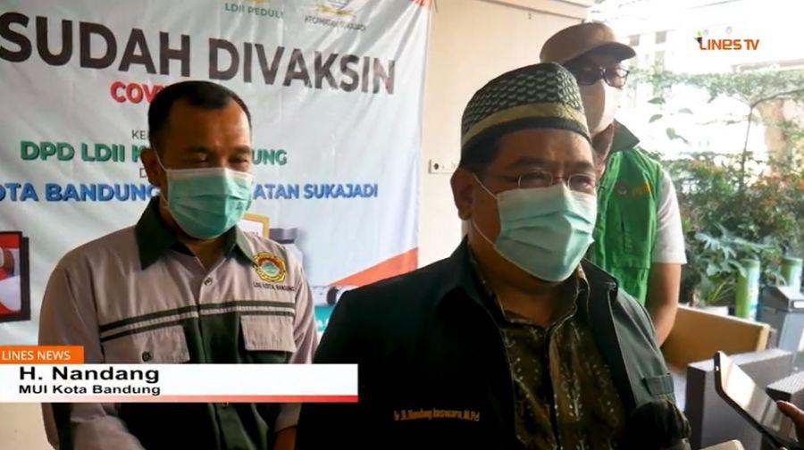 MUI Kota Bandung: LDII Patut Jadi Contoh Ormas Yang Mendukung 1 Juta Vaksin Perhari