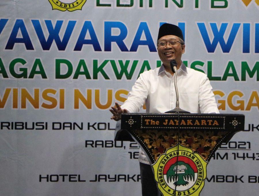 Muswil VII LDII NTB, Gubernur: Jadikan Muswil untuk Membangun Kebersamaan dan Persatuan