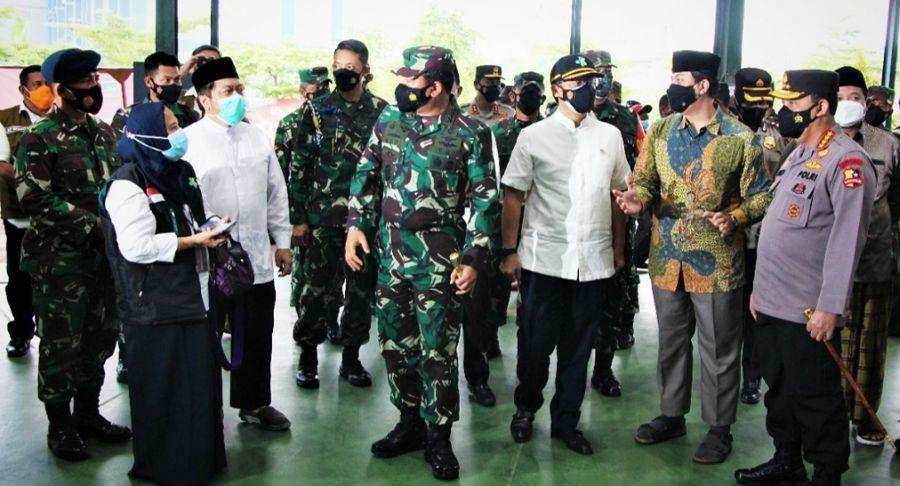 Panglima TNI, Kapolri dan Menkes Apresiasi Atas Pelaksanaan Vaksinasi  Massal LDII