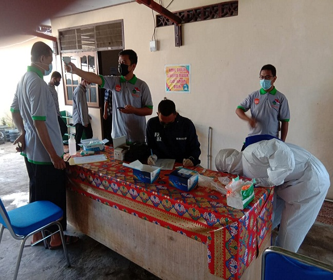 Diapresiasi TNI, PC LDII Tamalate Adakan Vaksinasi Massal