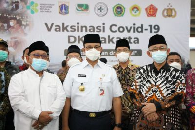 Gubernur Anies: Sejarah Mencatat Ponpes Minhaajurrosyidin LDII Jadi Lokasi Melawan Covid-19