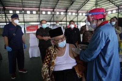 Laksanakan Amanat Presiden, LDII Helat Vaksinasi Massal