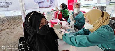 Ratusan Pesantren LDII Genjot Vaksinasi Massal Demi Terbentuknya Herd Immunity