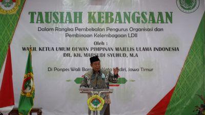 Waketum MUI Pusat Tausiah Kebangsaan Didepan Ribuan Warga LDII Seluruh Indonesia